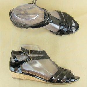 Clarks Indigo Strappy Ankle Strap Dress Sandal 6 M